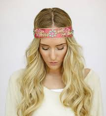 bohemian hair accessories godbead bohemian headbands beaded jeweled indian ribbon band