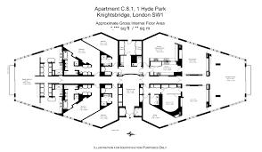 one hyde park floor plans london