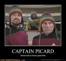 Happy Birthday Star Trek Meme - star trek the next generation meme knows how to have a good time