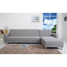 sofa chaise convertible bed frankfort ash convertible sectional sofa bed free shipping today