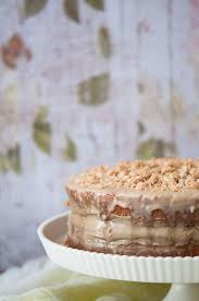 café au lait cake recipes for cake layers pastry cream crumb