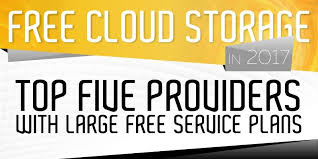 free cloud storage 2017 top 5 providers with up to 100gb for free