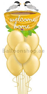 welcome home balloons delivery you belong here welcome home balloon bouquet delivery in dubai abu