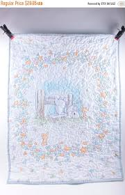 Precious Moments Crib Bedding Quilted Precious Moments Baby Blanket Quilt Gender Neutral