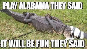 Crocodile Meme - best florida football memes from the 2015 season