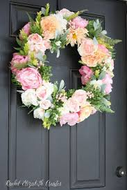 Spring Decorating Ideas For Your Front Door Best 25 Spring Wreaths For Front Door Diy Ideas On Pinterest