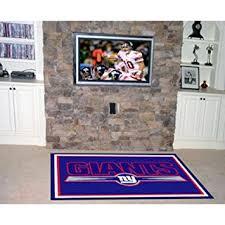 Hton Bay Indoor Outdoor Rugs Nfl New York Giants 5 X 8 Rug Area Rugs Sports