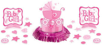 pink stroller baby shower party supplies party city