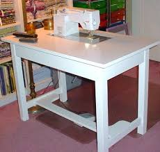 Diy Sewing Desk Busy Bee No 16 Make Your Own Sewing Machine Cabinet Table