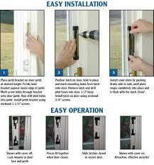 Sliding Patio Door Security Locks How To Fit Patio Door Locks 5 How To Fit Patio Door Locks Lovable