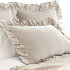 pine cone hill stone washed linen bedding natural u2013 flandb com