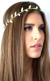 hair bands for women aliexpress buy bronzing leaves headband women elastics