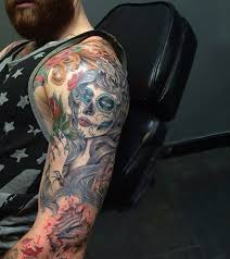 70 day of the dead tattoos for designs