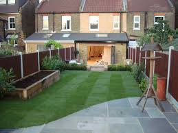 Family Gardens Long Garden Design Ideas Long Thin Garden Design Family Garden