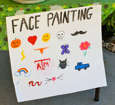 halloween paintings ideas easy ideas for face painting google search class party