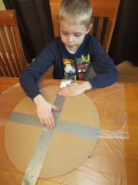 relentlessly fun deceptively educational viking shield upcycled