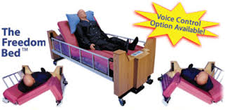 rotating hospital bed carelinc medical products hospital beds