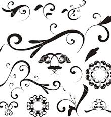 floral ornaments vector free vector 397367 cannypic