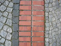 file paving stone and red bricks jpg wikimedia commons