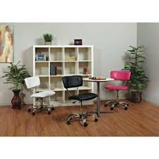Pink Computer Desk Chair by Pink Desk Chairs Home Office Furniture The Home Depot