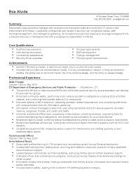 resume summary examples for software developer exceptional resumes resume for your job application professional state trooper templates to showcase your talent myperfectresume summary examples for a resume