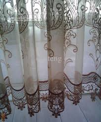 Embroidered Sheer Curtains Quality Embroidery Sheer Curtain Green Sheer Curtains Sheer