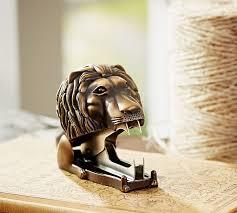 Lion Decor Home Lion Staple Remover Pottery Barn