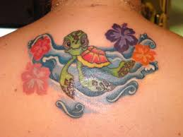 30 jazzy turtle tattoos