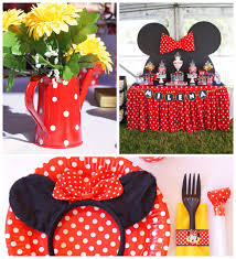 minnie mouse party decorations kara s party ideas minnie mouse themed birthday party with lots of