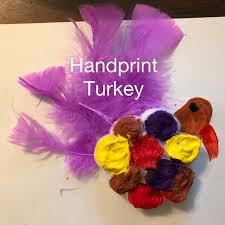 turkey handprint thanksgiving craft all about baby s world
