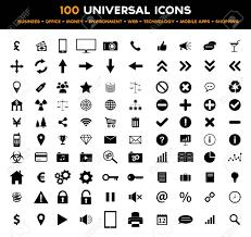 bureau des finances big ensemble de 100 universel noir mat icônes affaires le bureau