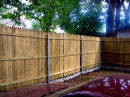bedroom fetching steel posts for wood fence fences craigslist