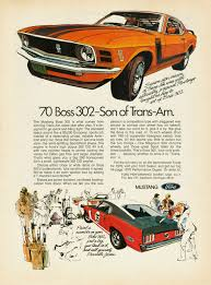 ford mustang ads directory index mustang 1970