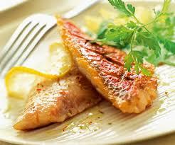 cuisiner rouget recette de poisson facile filets de rouget grillés au citron