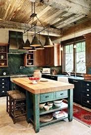 cabin kitchen ideas cabin kitchens log cabin kitchen with island and large wood beams