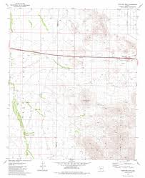 Road Map Arizona by Antelope Peak Topographic Map Az Usgs Topo Quad 32112g2