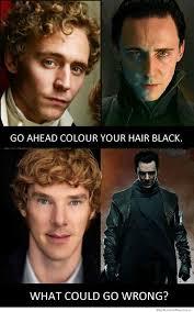 Black Hair Meme - go ahead dye your hair black weknowmemes