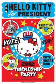 kitty running president