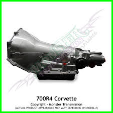 700r4 transmission remanufactured heavy duty performance corvette