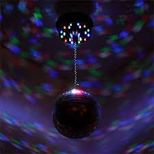 led disco ball light hanging disco ball with light motor combo