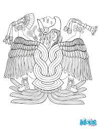 huitzilopochtli coloring pages hellokids com