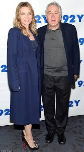 michelle pfeiffer and robert de niro wear matching blue daily