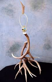 Antler Table Lamp Antler Table Lamps Made In Colorado Of Natural Real Mule Deer