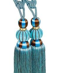 Where To Buy Curtain Tie Backs Don U0027t Miss This Bargain 1 Pair Classical Style Beaded Large