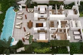 bedroom 3 bedroom house floor plans caribbean beach house designs