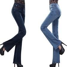 High Waist Bell Bottom Jeans Long Bell Bottom Jeans Jeans To