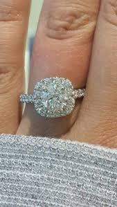 neil engagement ring neil ring setting 1 ct tw diamonds 14k white gold