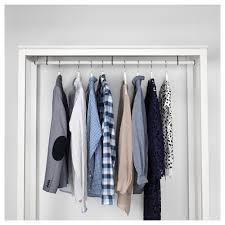 hemnes open wardrobe white stained 120x197x50 cm ikea