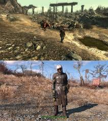 Fallout 3 Map by Fallout 4 Vs Fallout 3 Screenshot Comparison Shows Massive