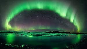 sky aurora nature amazing northern lights borealis sky arc